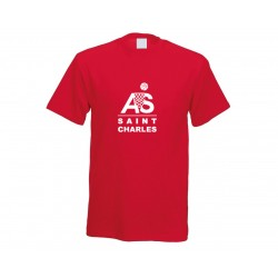 Tee-shirt blanc ou rouge